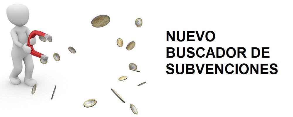 NUEVO BUSCADOR DE SUBVENCIONES