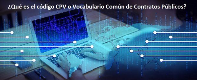 código CPV