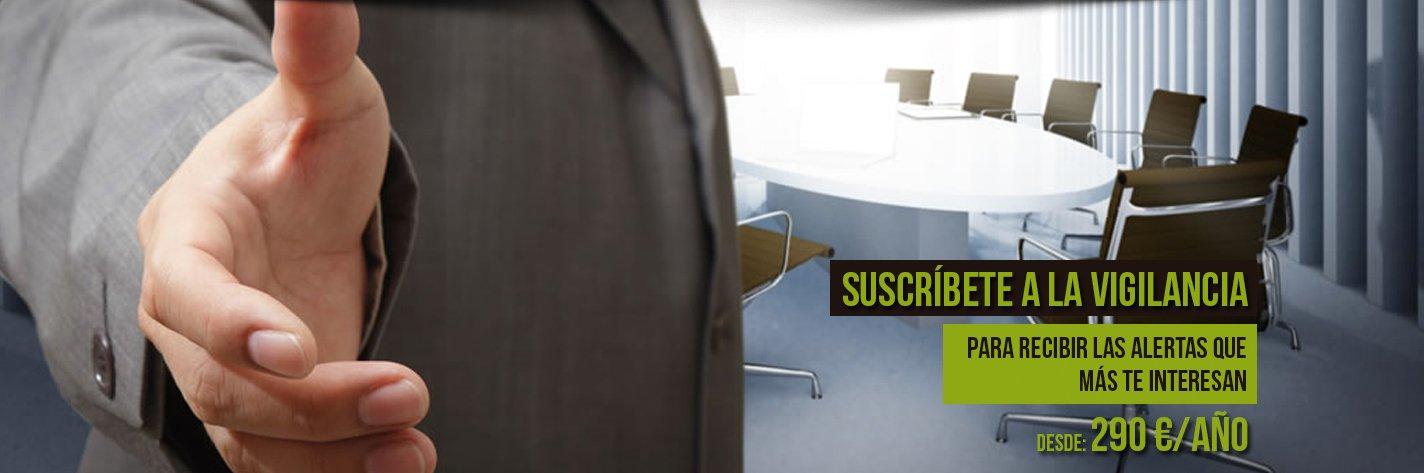 Suscripción vigilancia licitaciones