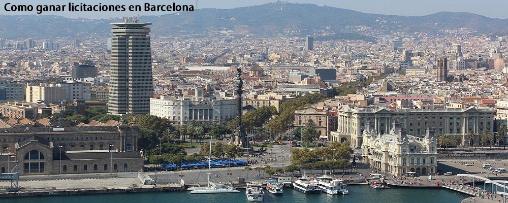 licitaciones en Barcelona