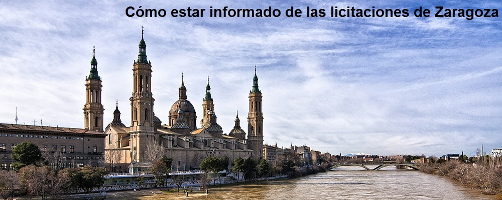 licitaciones de Zaragoza