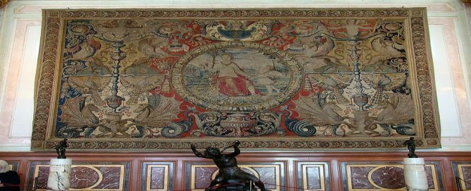 Adjudicación Patrimonio Nacional restauración tapices