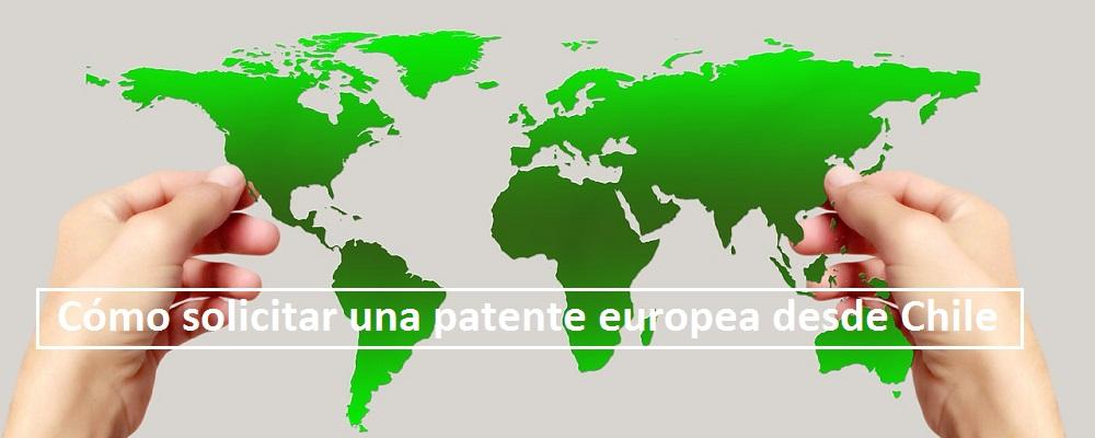 patente europea desde Chile