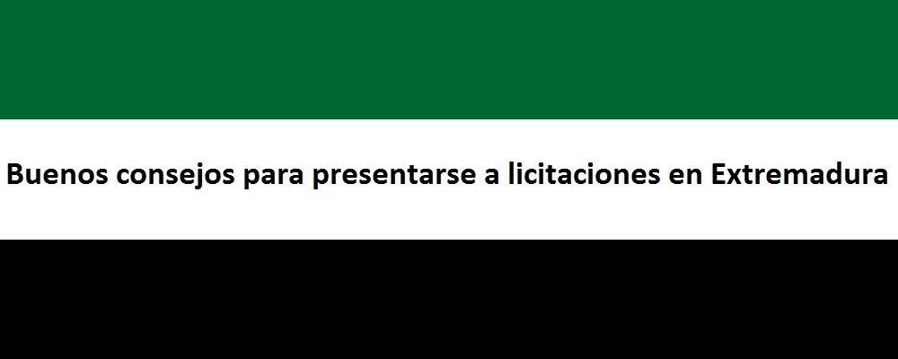 licitaciones en Extremadura